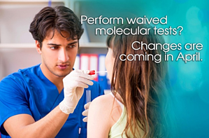 Waived Molecular Test Changes 2020