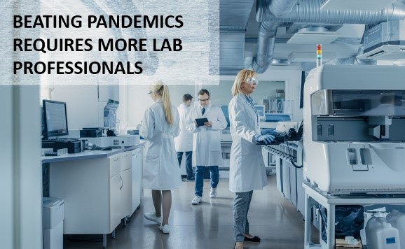 Beating Pandemics Like COVID-19 Requires More Medical Laboratory Professionals, This Virologist Explains
