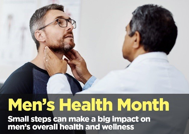 Men's Health Month – How Small Steps Can Make A Big Impact
